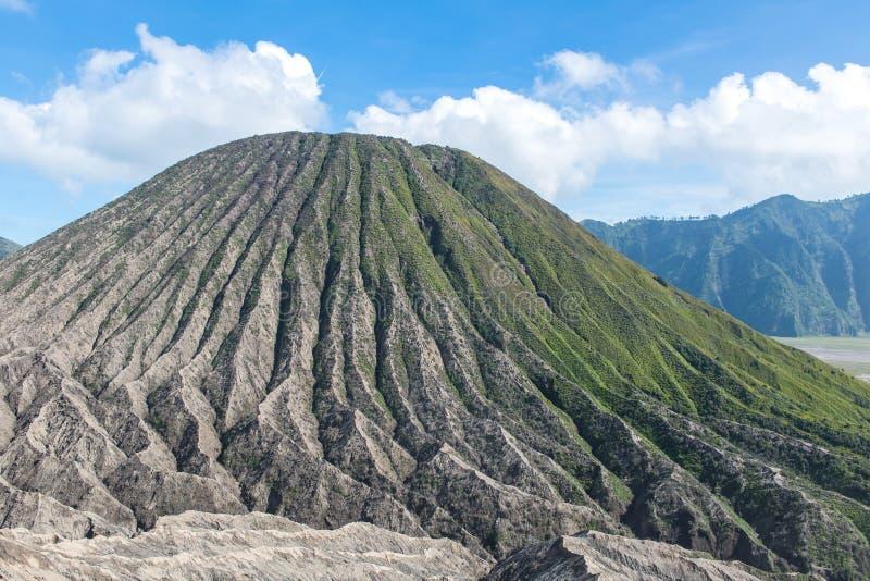 Volcán de Bromo del soporte y x28; Gunung Bromo& x29; en Bromo Tengger Semeru Natio fotografía de archivo libre de regalías