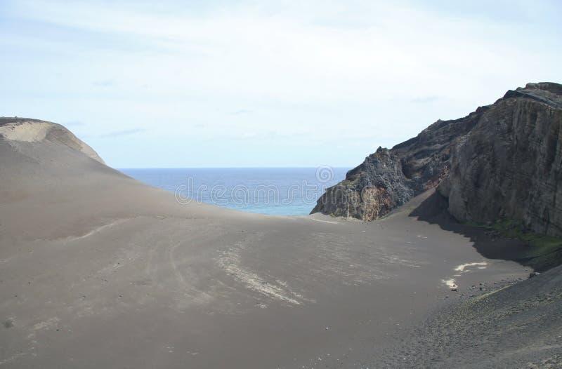 Volcán de Capelinhos fotos de archivo