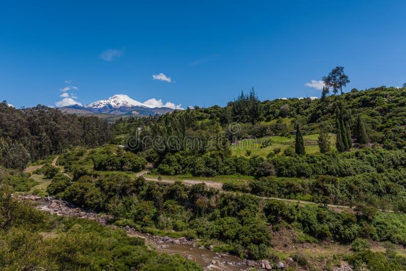 Volcán de Cayambe foto de archivo libre de regalías