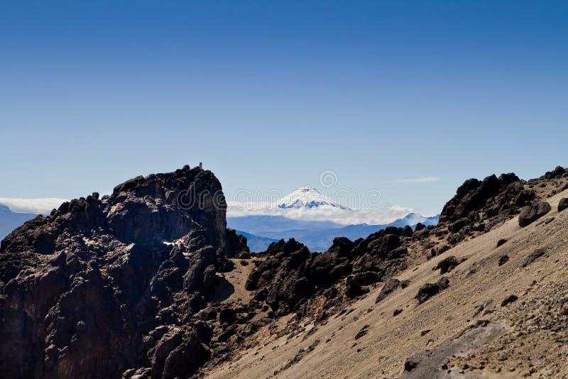 Volcán de Cotopaxi, Ecuador. imagen de archivo