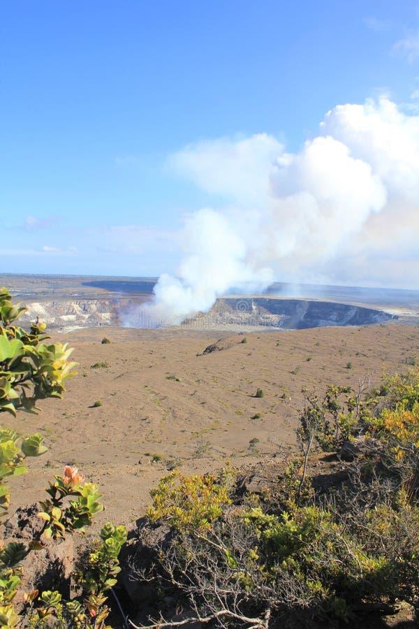 Volcán de Kilauea foto de archivo