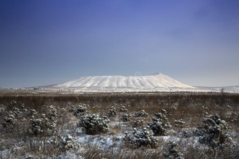 Volcán de Langwo foto de archivo