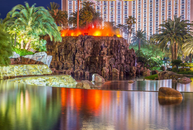 Volcán de Las Vegas foto de archivo