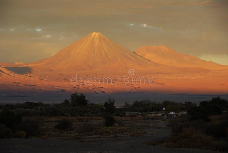 Volcán de Licancabur imágenes de archivo libres de regalías