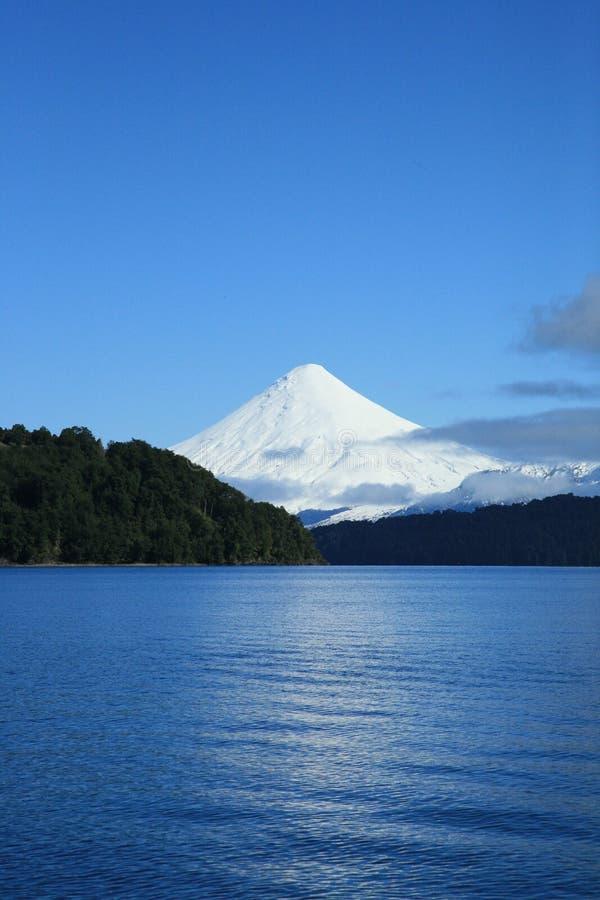 Volcán de Osorno foto de archivo