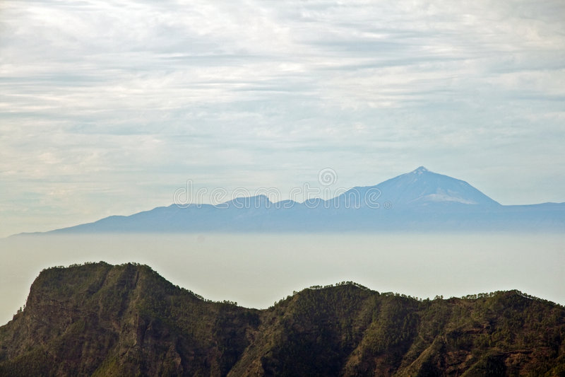 Volcán de Teide, islas Canarias foto de archivo libre de regalías
