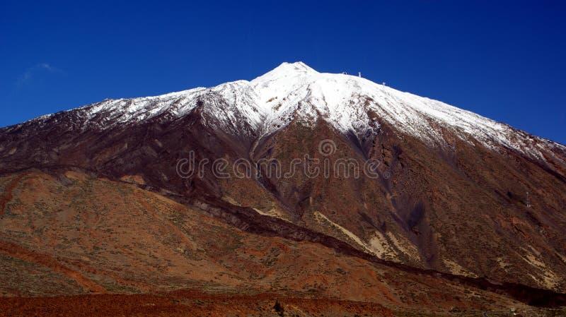 Volcán de Teide, Tenerife, islas Canarias, en España fotos de archivo