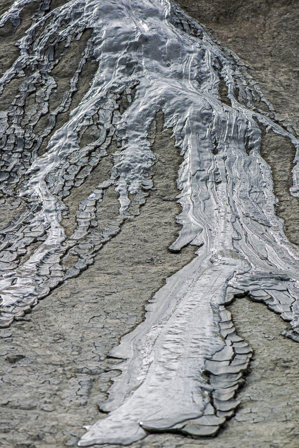 Volcán del fango imágenes de archivo libres de regalías