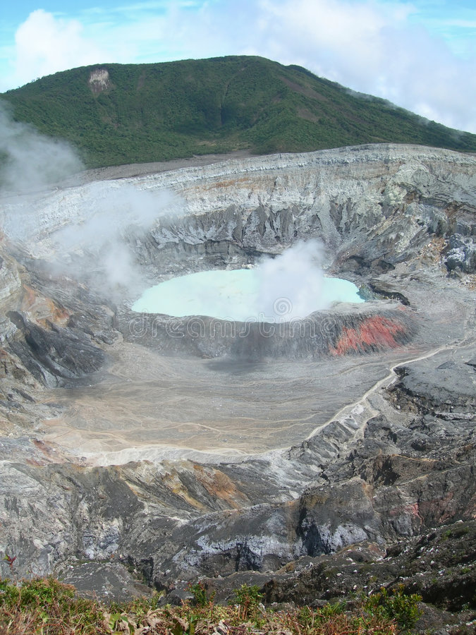 Volcán en Costa Rica fotos de archivo libres de regalías