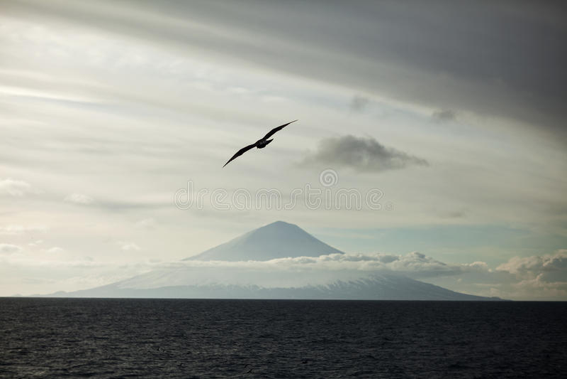 Volcán en Kamchatka foto de archivo