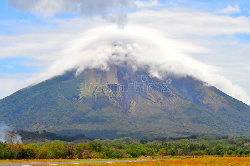 Volcà ¡ n Concepcion, wyspa Ometepe, Nikaragua fotografia royalty free