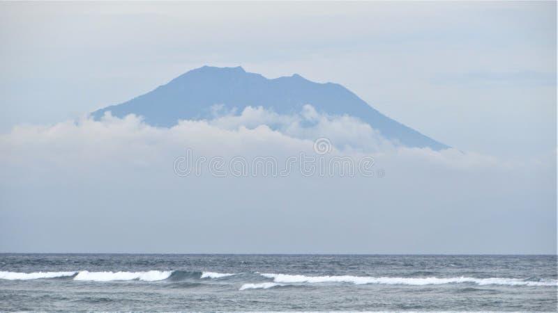Volc?n de Bali, Indonesia fotografía de archivo