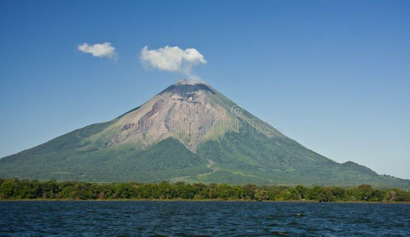 Volcan康塞普西翁角,尼加拉瓜 免版税库存图片