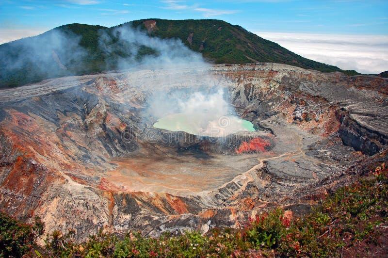 Volcan photo libre de droits