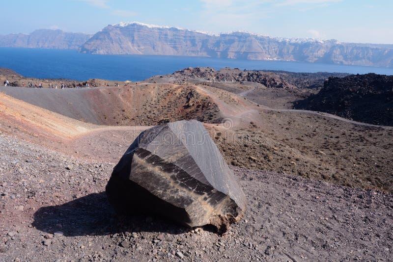 volcan photo stock