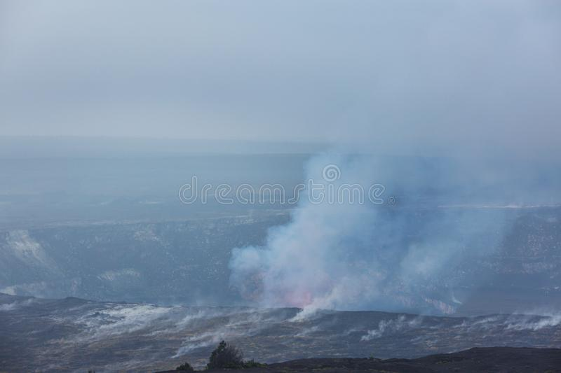 Volcan actif photos stock