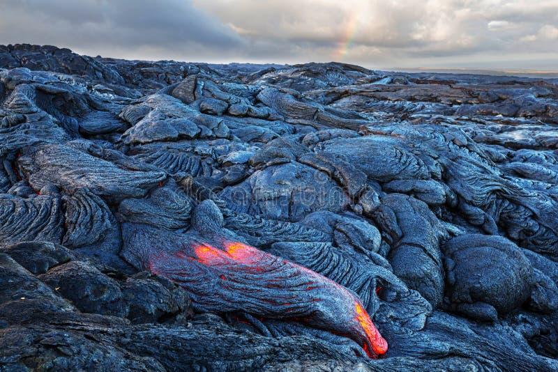 Volcan actif photos libres de droits