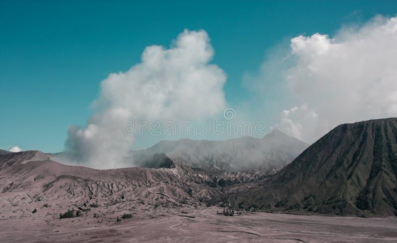 volcan Bro-MOIS photo stock