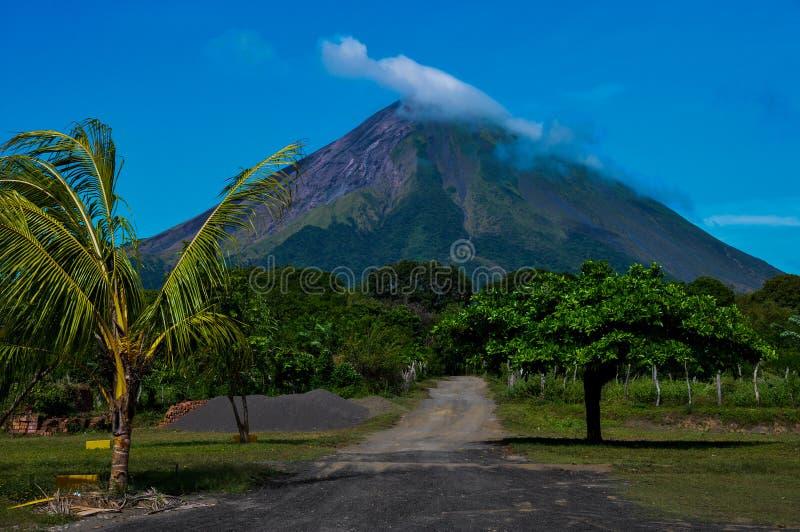 Volcan Concepción, Isla Ometepe, Nicaragua royalty-vrije stock fotografie