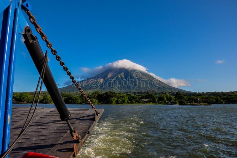 Volcan Concepcion, Isla Ometepe, Nicaragua photographie stock libre de droits