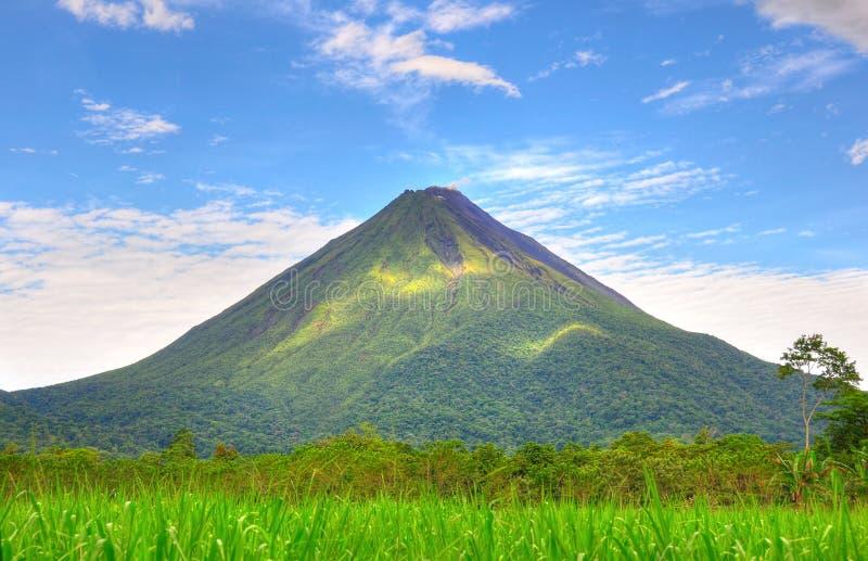 Volcan d'Arenal, Costa Rica images libres de droits
