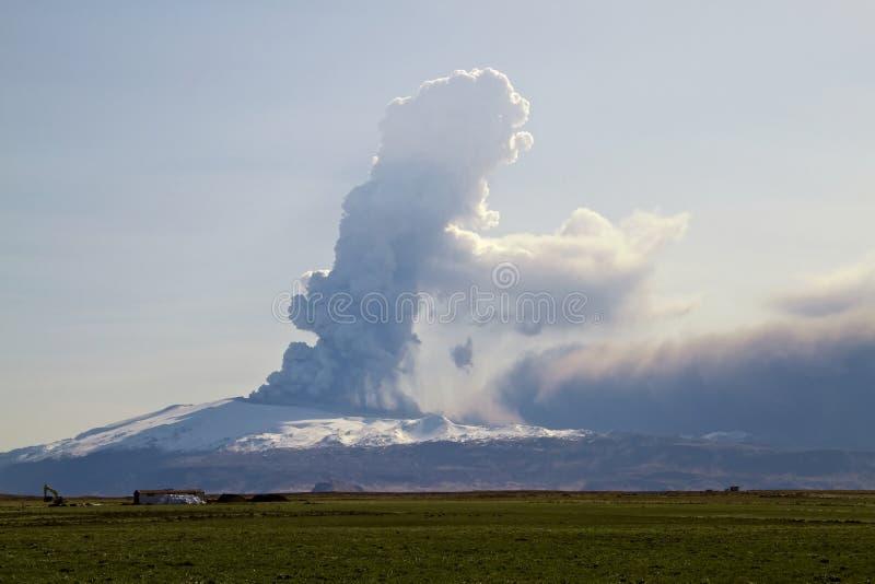 Volcan d'Eyjafjallajokull image libre de droits