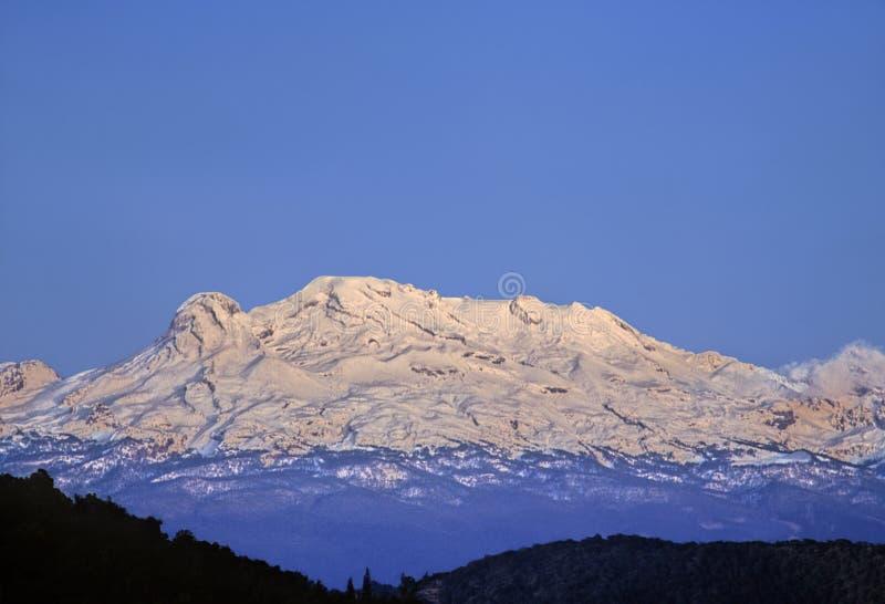 Volcan d'Iztaccihuatl photo stock