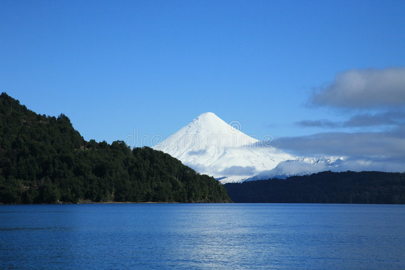 Volcan d'Osorno, Patagonia images stock