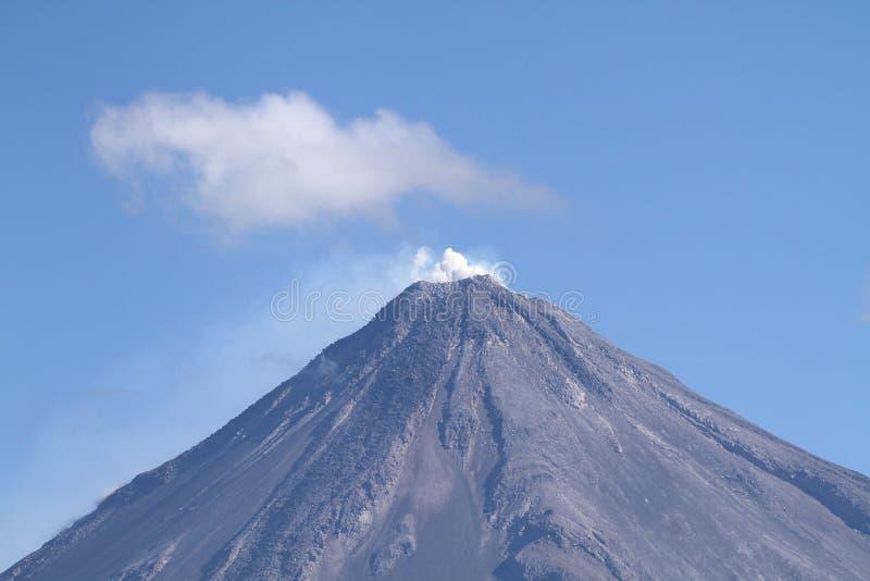 Volcan de Колима, Мексика стоковые фото