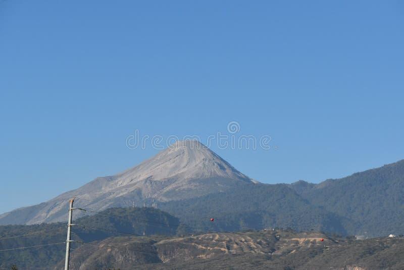 Volcan De Colima Colima Volcano Stock Image Image - Active volcanoes in mexico