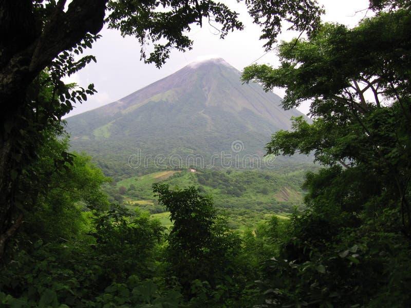 Volcan de Concepcion au Nicaragua images libres de droits