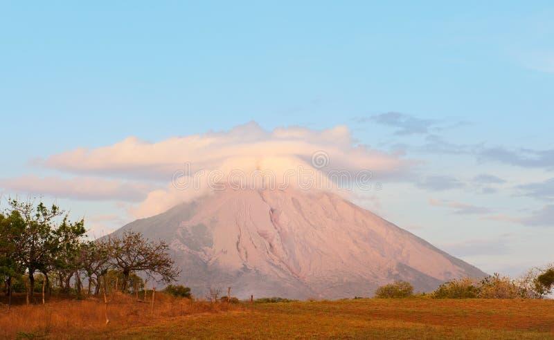 Volcan de Concepcion, Nicaragua. photo stock