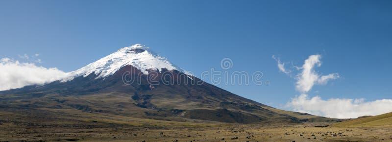 Volcan de Cotopaxi en Equateur photos libres de droits