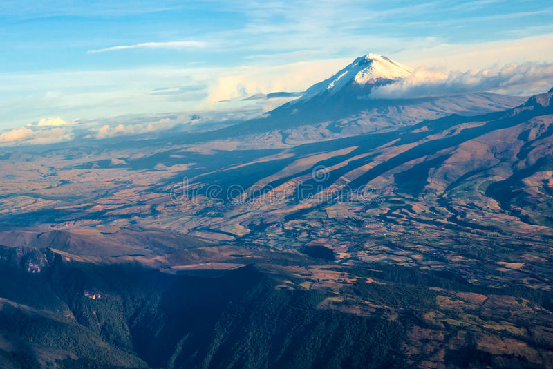 Volcan de Cotopaxi en Equateur photographie stock libre de droits