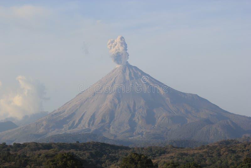 Volcan de Fuego fotos de archivo