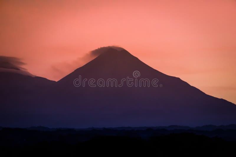 Volcan de Fuego de Colima fotografía de archivo libre de regalías