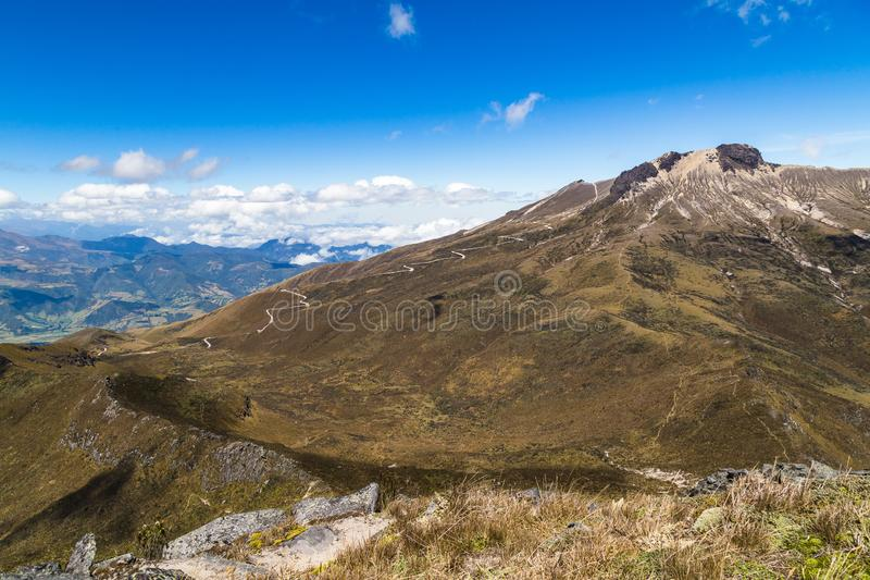 Volcan de Guagua Pichincha photographie stock libre de droits