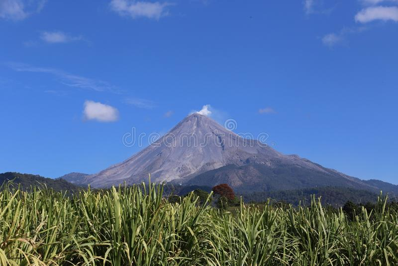 Volcan de il Colima, Messico fotografie stock