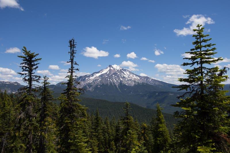 Volcan de Jefferson de bâti de l'Orégon, Etats-Unis photo libre de droits