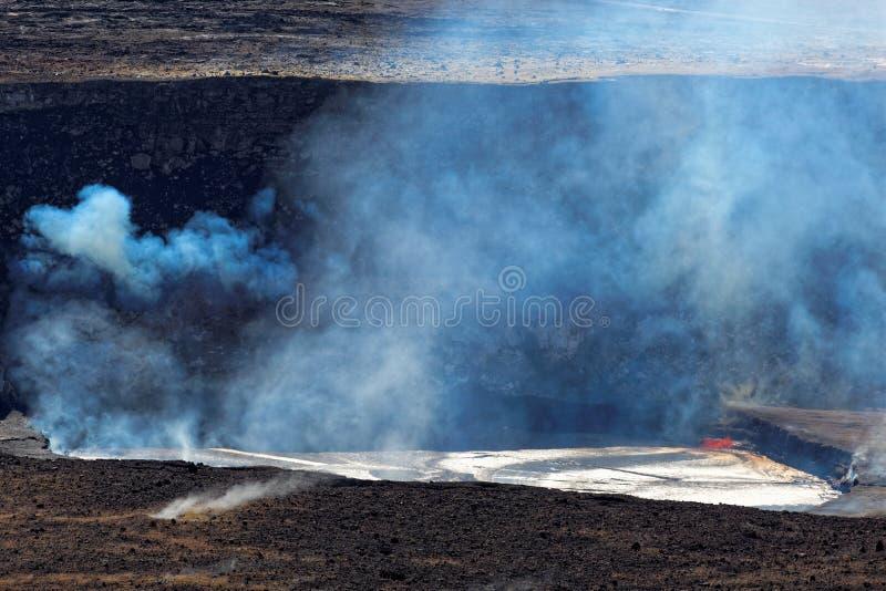 Volcan de Kilauea sur la grande île, Hawaï photo libre de droits