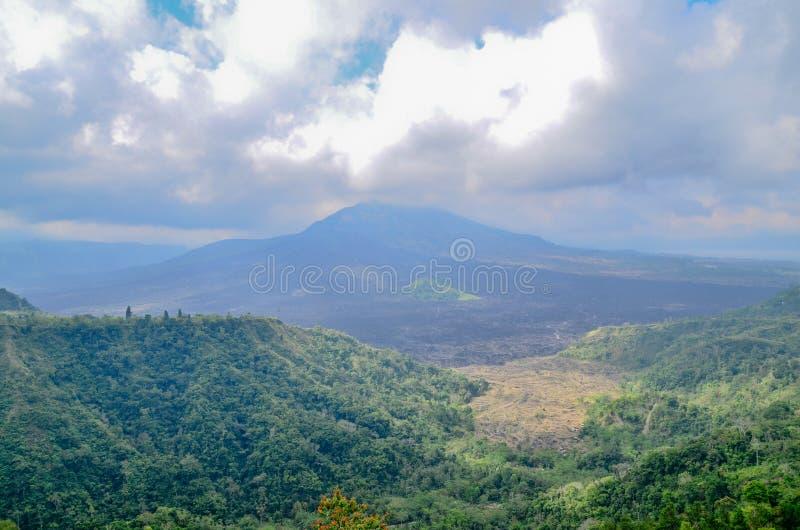Volcan de Kintamani Batur l'endroit d'intérêt dans Bali photographie stock