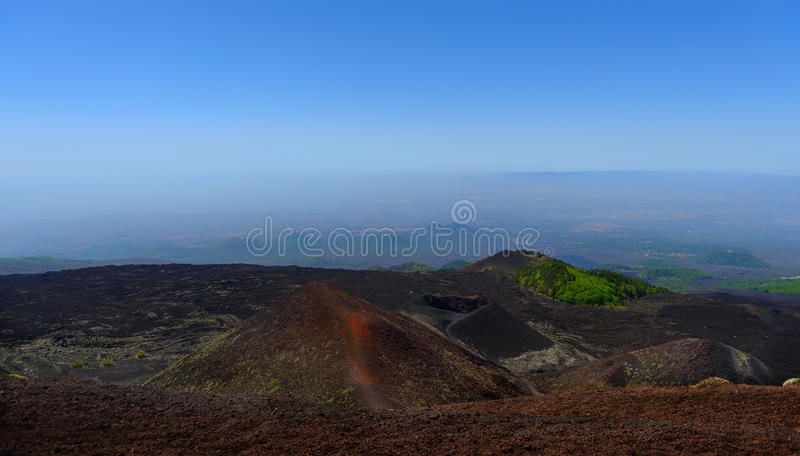 Volcan de l'Etna photos stock
