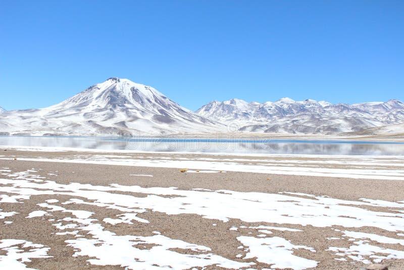 Volcan de Lascar images stock