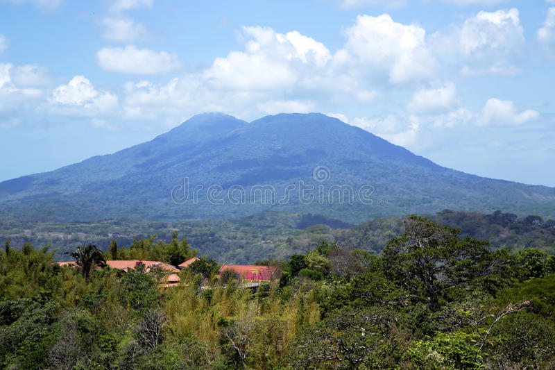 Volcan de Mombacho images stock