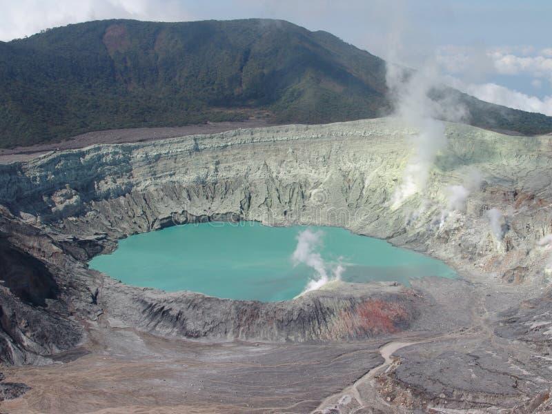 Volcan de Poas photographie stock libre de droits