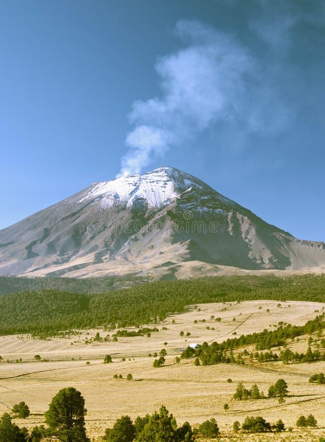 Volcan de Popocatepetl photos libres de droits