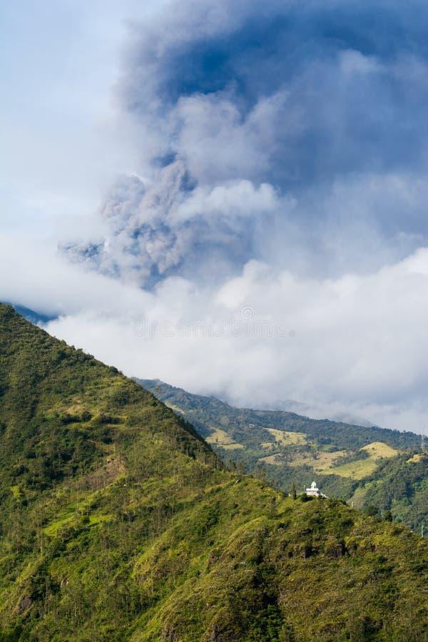 Volcan de Tungurahua, Equateur photos libres de droits