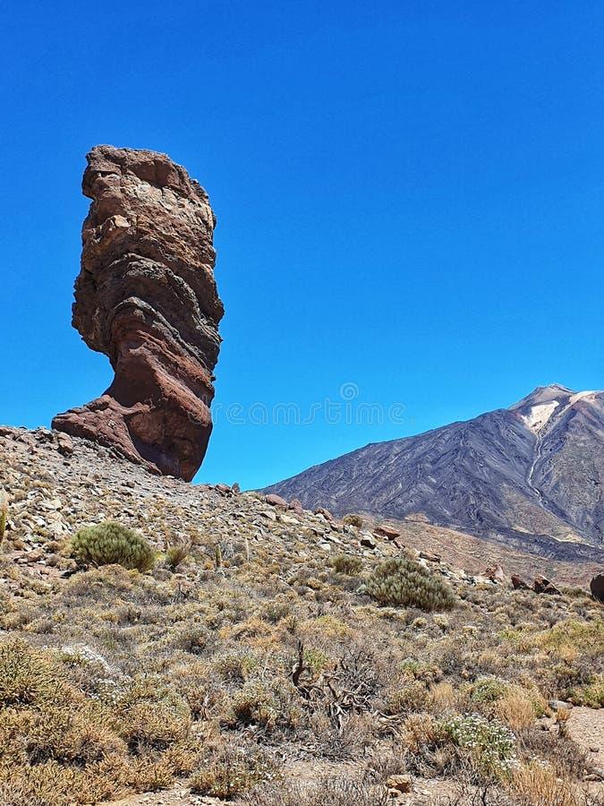 Volcan des Îles Canaries de Ténérife de parc national de Teide photos libres de droits
