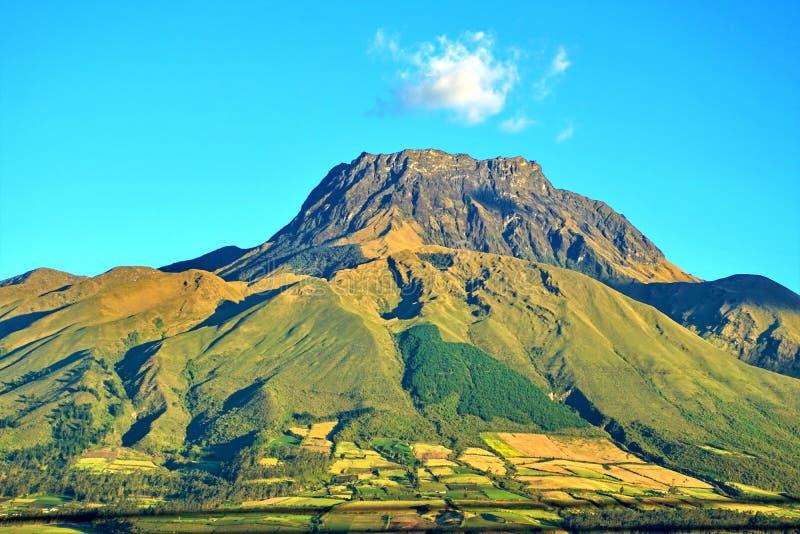 Volcan en Equateur photo stock