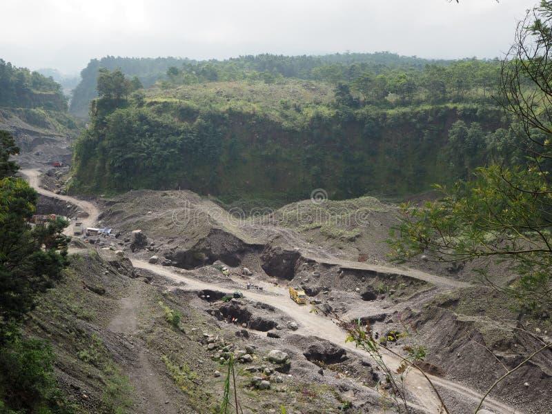Volcan ex photo stock